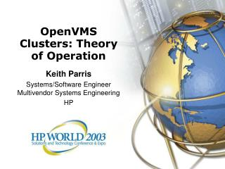 OpenVMS Clusters: Theory of Operation