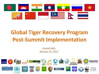 Global Tiger Recovery Program Post-Summit Implementation