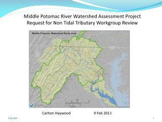 Middle Potomac River Watershed Assessment Project
