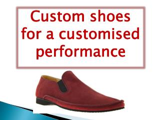 Custom shoes for a customised performance | Dress-shoes
