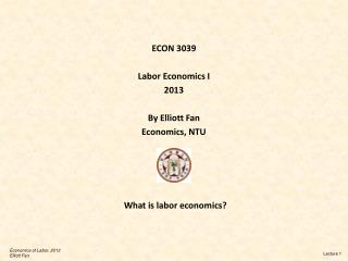What is labor economics?