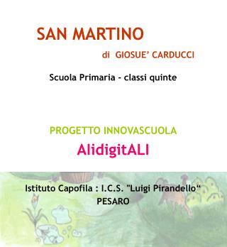 SAN MARTINO                         di  GIOSUE' CARDUCCI