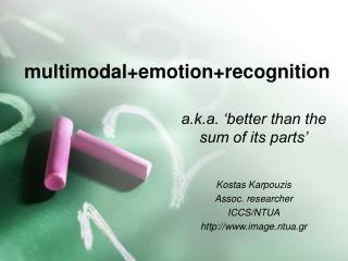 multimodal+emotion+recognition