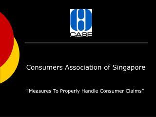 Consumers Association of Singapore
