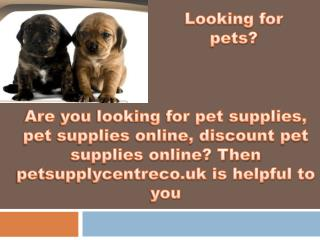 The one stop shop for discount pet supplies online