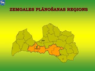 ZEMGALES PLĀNOŠANAS REĢIONS