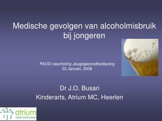 Medische gevolgen van alcoholmisbruik bij jongeren