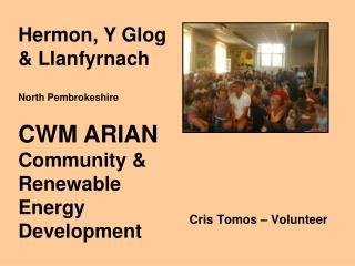 Cris Tomos   Volunteer