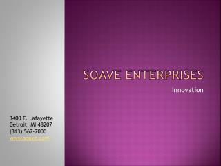 Tony Soave - Innovation with Every Enterprise