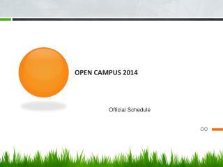 Open Campus 2014