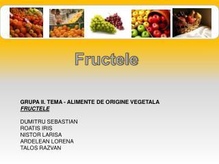Fructele