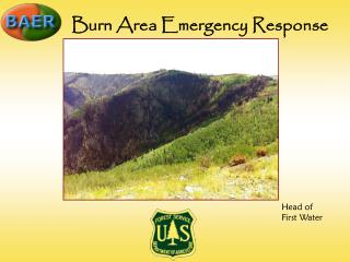 Burn Area Emergency Response