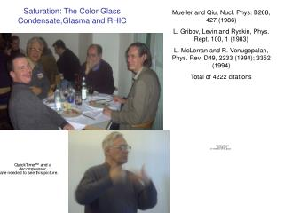 Saturation: The Color Glass Condensate,Glasma and RHIC