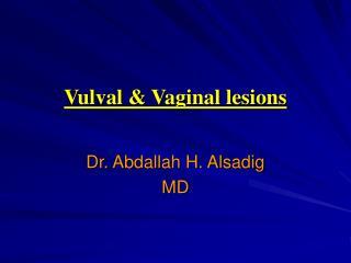 Vulval & Vaginal lesions
