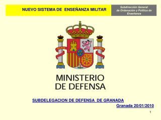 NUEVO SISTEMA DE  ENSE�ANZA MILITAR