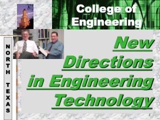 New Directions  in Engineering Technology