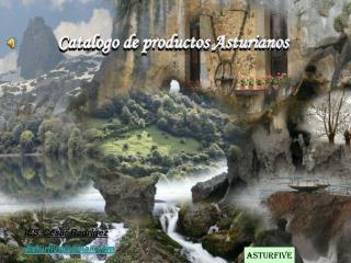 Catalogo de productos Asturianos