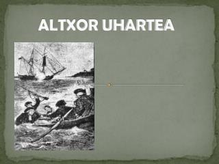 ALTXOR UHARTEA