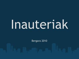 Inauteriak