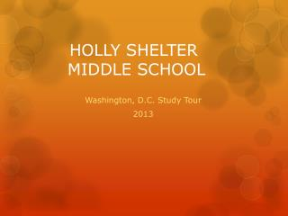 HOLLY SHELTER  MIDDLE SCHOOL