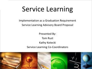 Service Learning Implementation as a Graduation Requirement