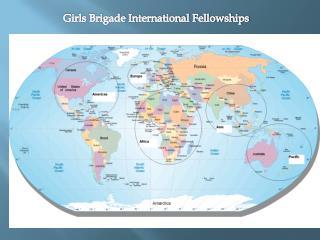 Girls Brigade International Fellowships