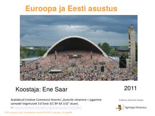 Euroopa ja Eesti asustus