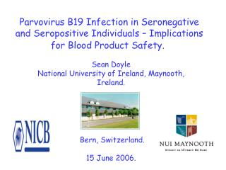 Sean Doyle National University of Ireland, Maynooth, Ireland.