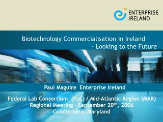 Paul Maguire  Enterprise Ireland