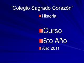 """""""Colegio Sagrado Corazón"""""""