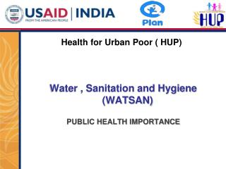 Health for Urban Poor ( HUP)