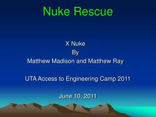 Nuke Rescue