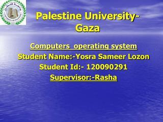 Palestine University-Gaza