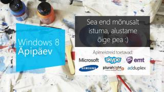 Windows 8 Äpipäev