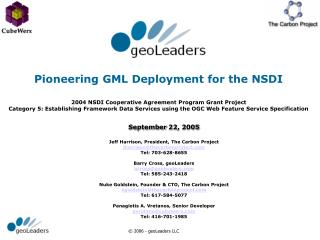 Pioneering GML Deployment for the NSDI