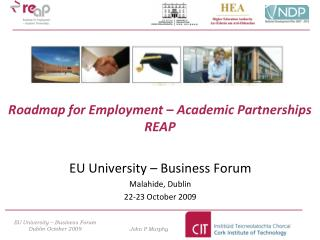 Roadmap for Employment – Academic Partnerships REAP
