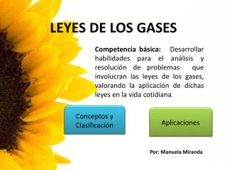 LEYES DE LOS GASES