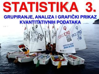 STATISTIKA  3.