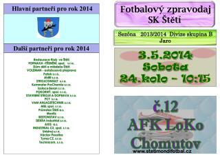 č.12 AFK  LoKo  Chomutov