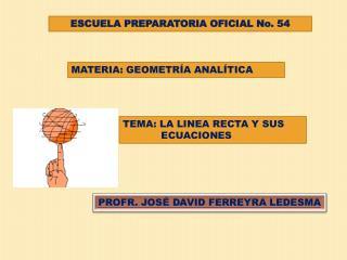ESCUELA PREPARATORIA OFICIAL No. 54