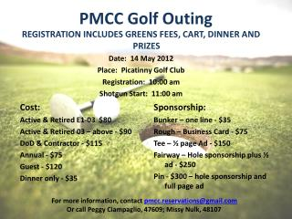 PMCC Golf Outing