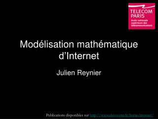 Modélisation mathématique d'Internet