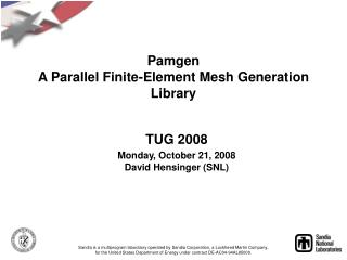 Pamgen A Parallel Finite-Element Mesh Generation Library