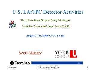U.S. LArTPC Detector Activities