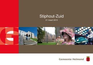 Stiphout-Zuid 21 maart 2013