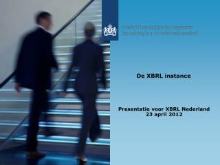 De XBRL instance