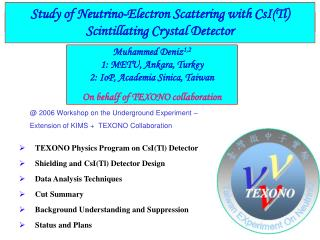 Study of Neutrino-Electron Scattering with CsI(Tl) Scintillating Crystal Detector