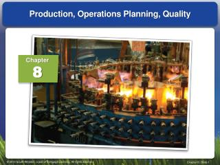 Production, Operations Planning, Quality