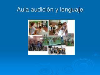 Aula audición y lenguaje