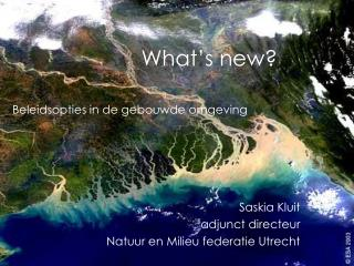 What�s new?